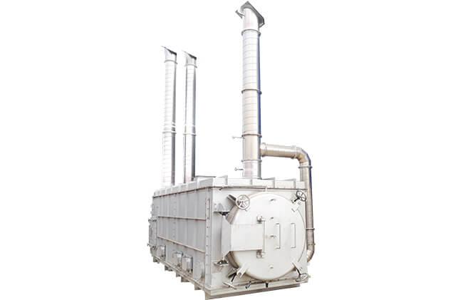 バッチ式炭化装置「Carbon Box」