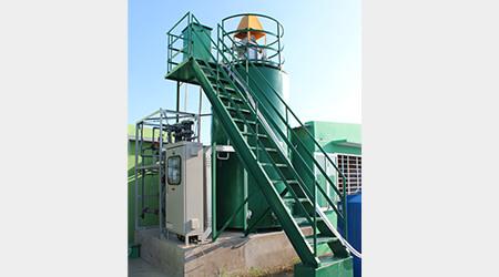 食品工場の悩みの種だった工場残渣から資源創出へ。廃棄物処理コスト削減に貢献します。