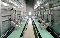 Storage and drying system for cereals etc.